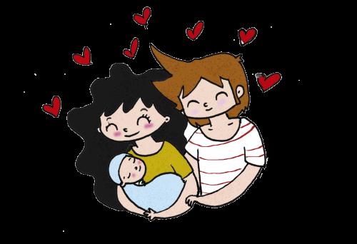 padres-felices-con-hijo